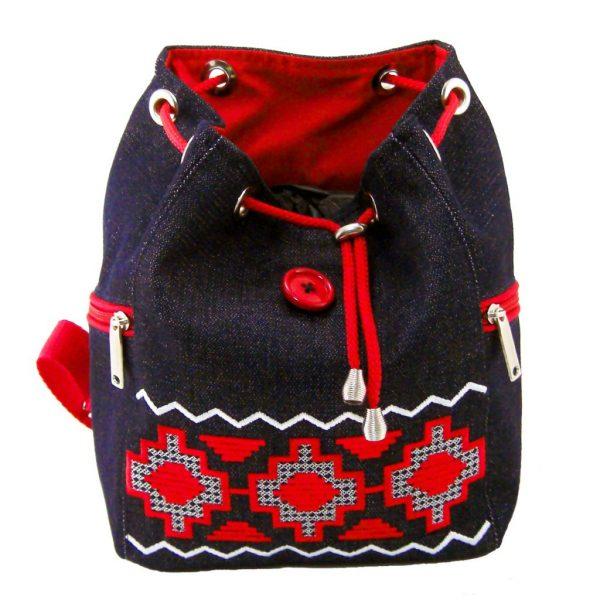 """рюкзак с вышивкой """"красная дорожка"""""""