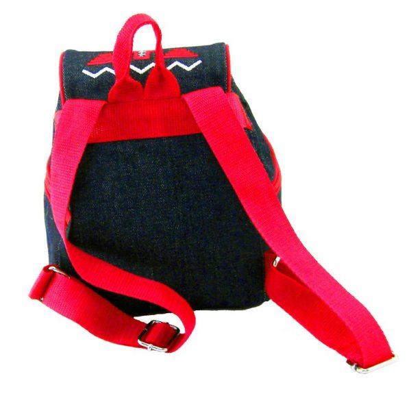 рюкзак с вишивкою червона доріжка