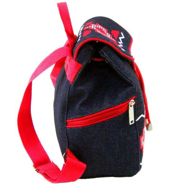 рюкзак маленький з вишивкою червона доріжка