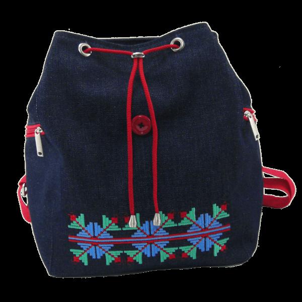 рюкзак джинсовий хрещатий хрест