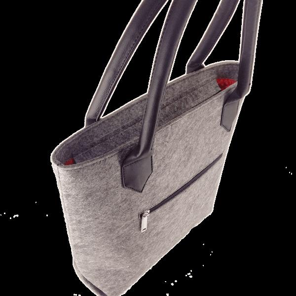 сумка з фетру
