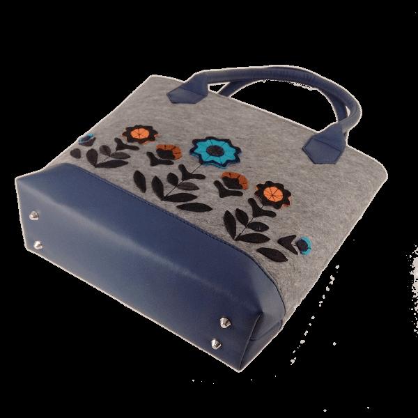 сумка из фетра аппликация