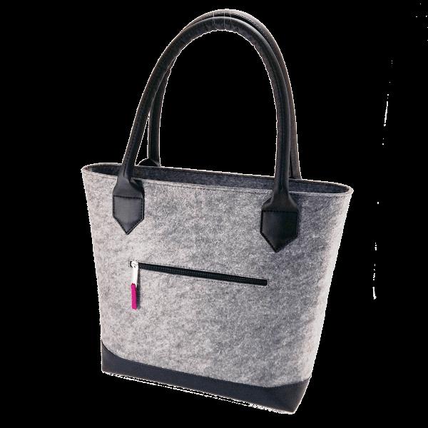 сумка из фетра средняя