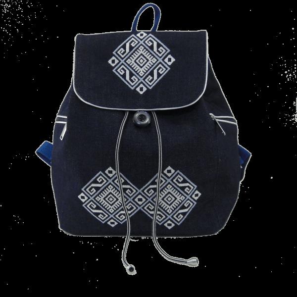 рюкзак вишитий сигма