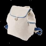 великий білий лляний рюкзак
