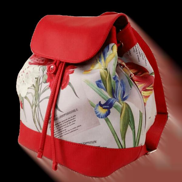 Квітковий рюкзак -Ірис фото 2