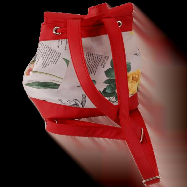 Квітковий рюкзак -Ірис фото 1