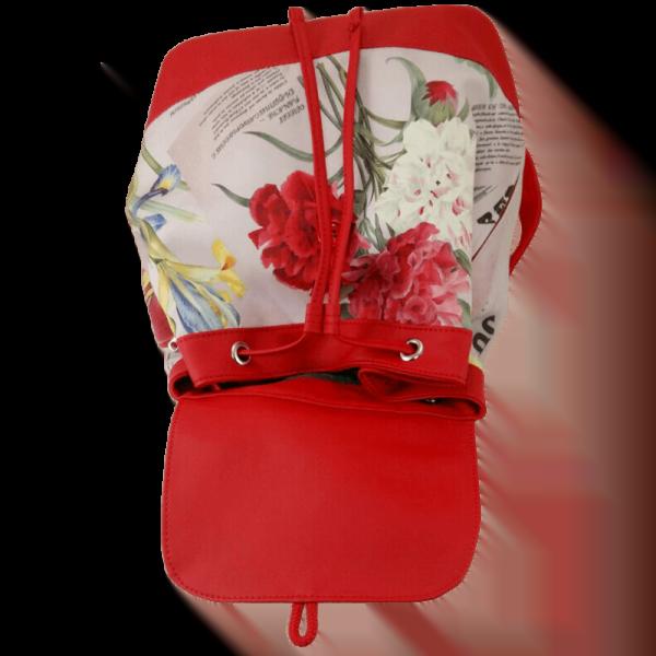 Квітковий рюкзак - Ірис фото 3