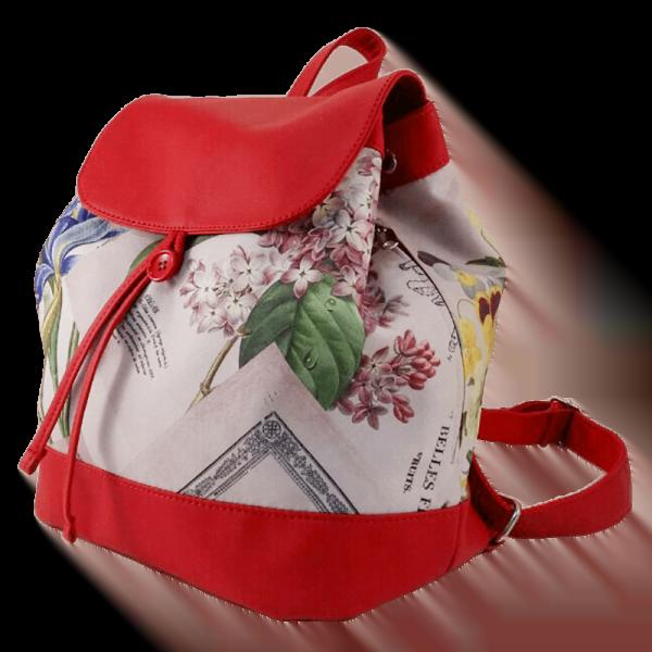 Квітковий рюкзак -Бузок фото 3