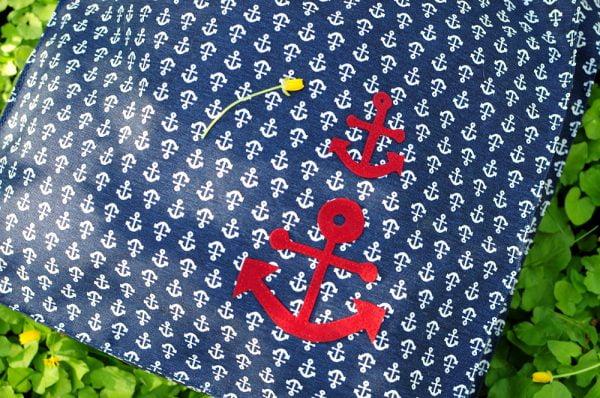 Еко-сумка (шоппер) синя