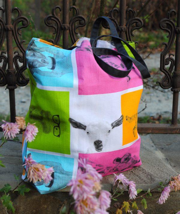Еко сумка (шопер) звірята