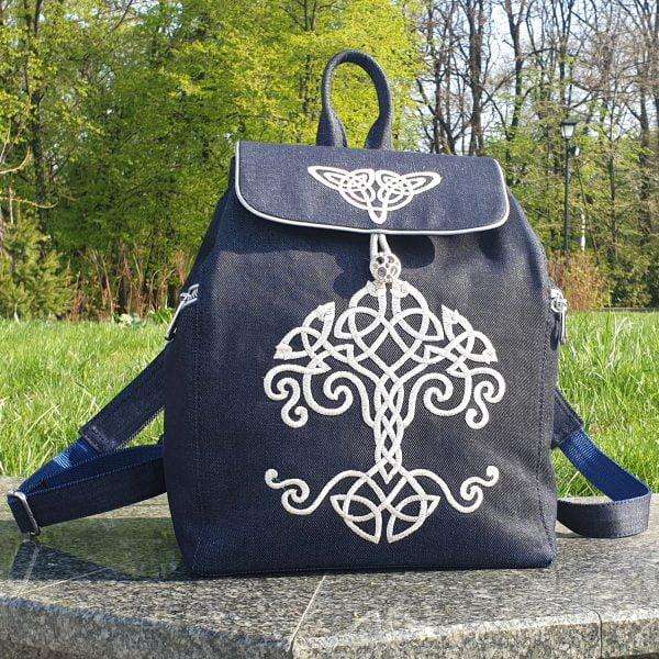 Рюкзак з кельтським орнаментом