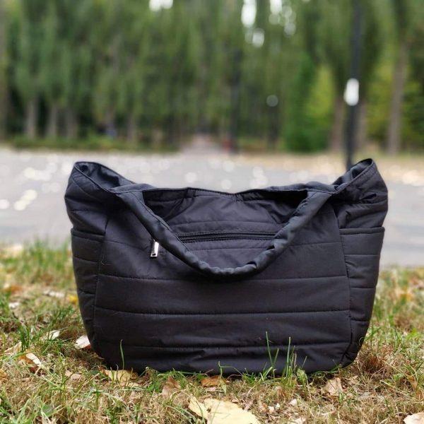 12343 Легка стьобана велика сумка