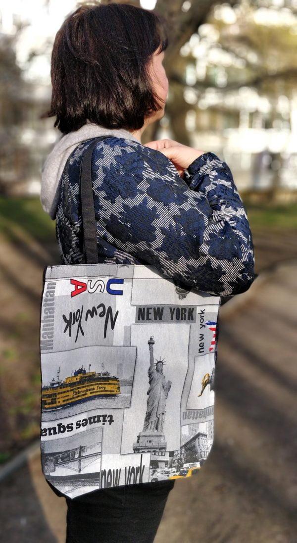 """14012 Екосумка """"Нью-Йорк"""""""