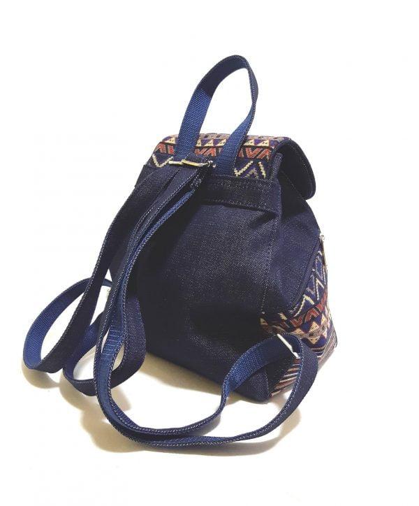 Рюкзак джинс та гобелен (15007-7)