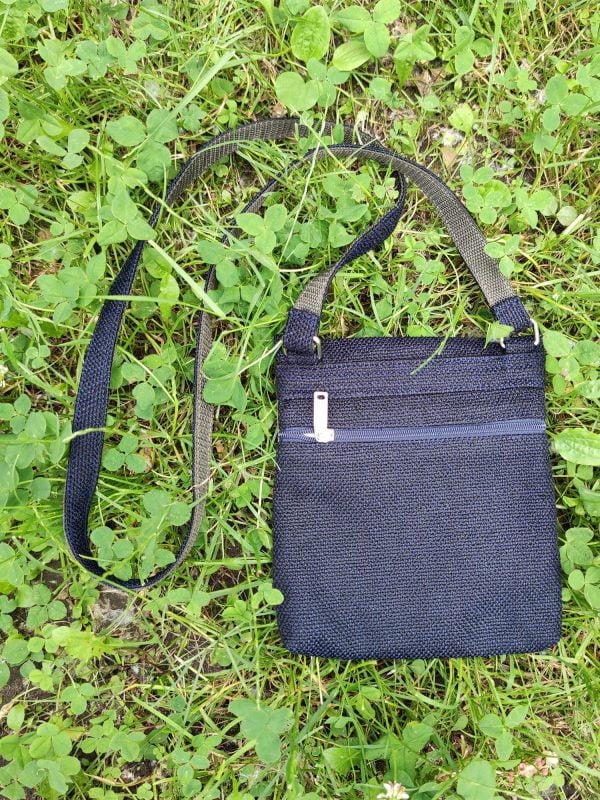 Міні сумка 4 кишені (синій, хакі ,фіолет) (23004)