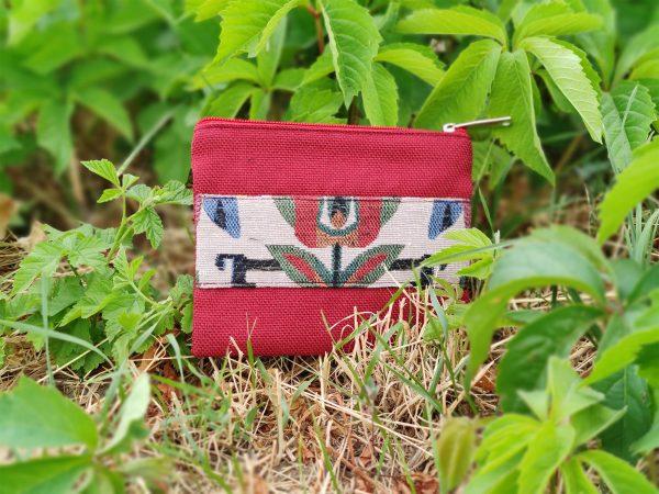 19100 Маленька пухка сумочка з квіткою