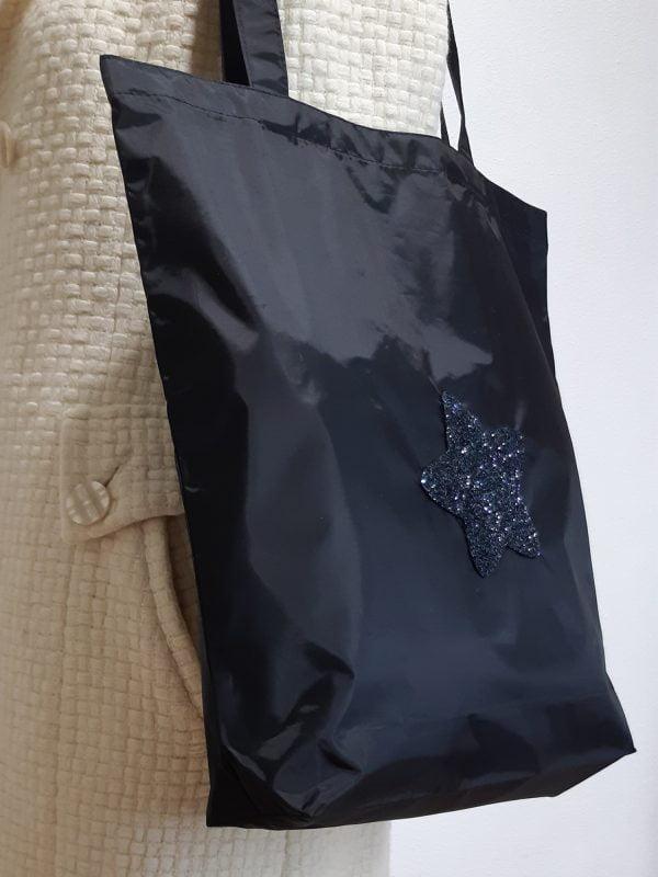 Екосумка чорна Зірка (14018)