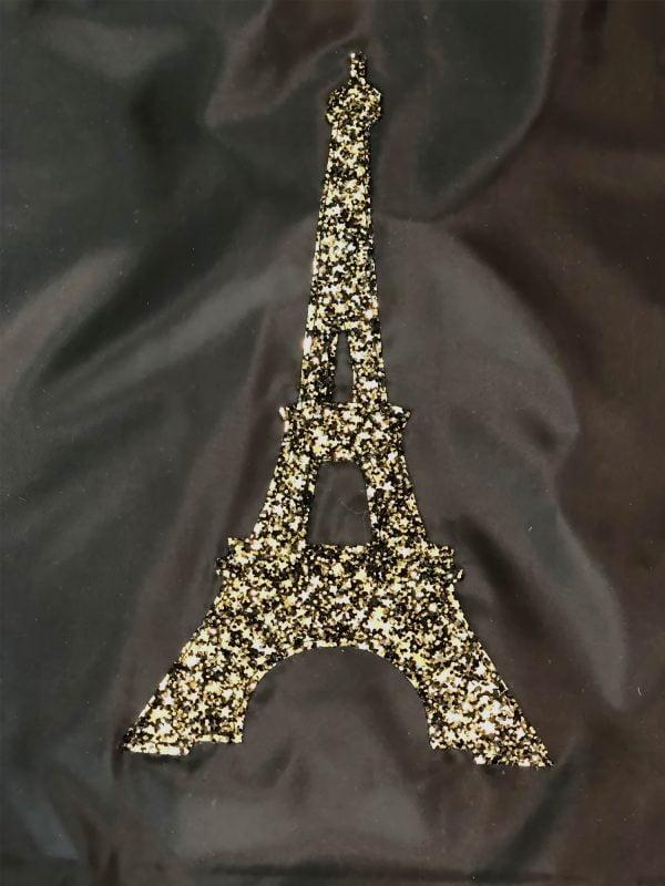 Екосумка чорна Париж (14024)