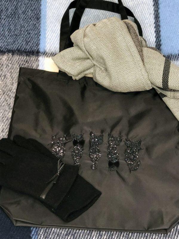Екосумка чорна Коти (14028)