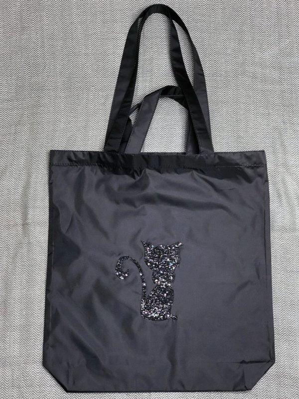 Екосумка чорна Киця (14029)